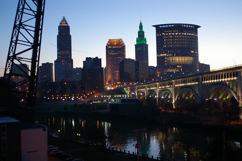 Cleveland on St. Pat's