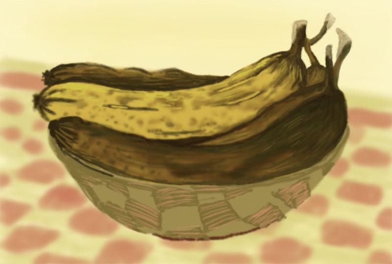 Expired banana 800