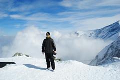 Me on 2600m (Martin van der Meulen) Tags: clouds austria kitzsteinhorn