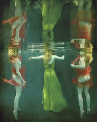 x3 (Kathleen Wilke Photography) Tags: 3 reflection texture underwater ps layers thedantecircle