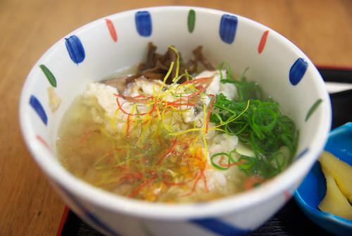 鮒寿司(お茶漬け) funa-zushi