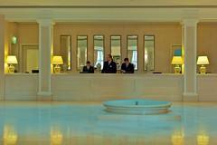 reception desk (Winfried Veil) Tags: ocean leica sea 50mm hotel coast meer veil rangefinder balticsea ostsee summilux asph winfried 2010 grandhotel m9 mecklenburgvorpommern heiligendamm messsucher kuste mobilew leicam9 winfriedveil