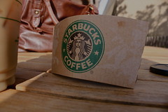 (shley Polk) Tags: starbucks delmar woodtable urbanoutfitterspurse