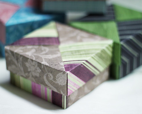 42 / 365 / Origami Paper Boxes