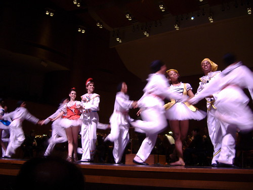 Ballet Dancers in Pulcinella