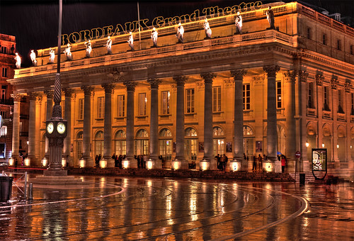 Bordeaux grand theatre