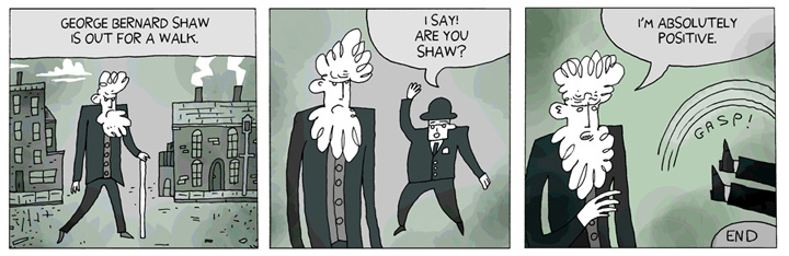 George Bernard Shaw Makes A Joke