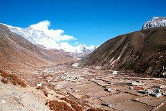Dingboche village at 4,350m
