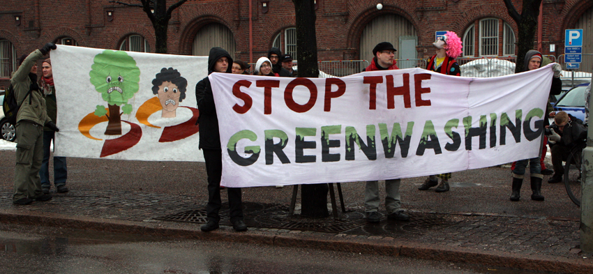 stop the greenwashing