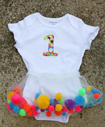 3d478467d90 Pom-pom Birthday Skirt