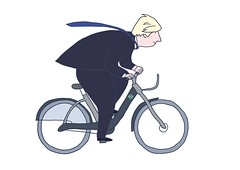 Cycle hire animation - Boris Johnson