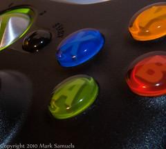 Xbox 360 Controller (Shiny Chocolate) Tags: canon closeupfilter zuikos efs1855mmisf3556
