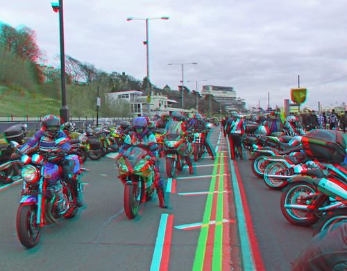 4493484169 6b25e74792 Motorbikes motorcycle in 3D Southend Shakedown 2010