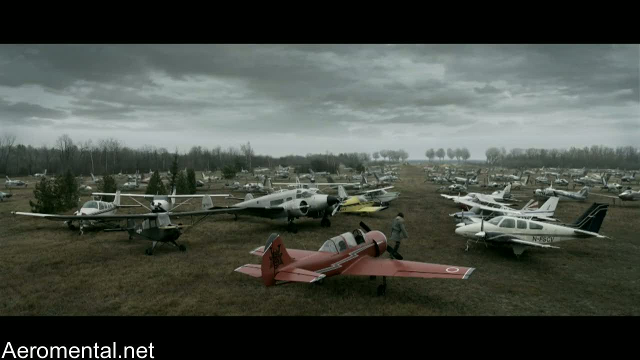 Resident Evil Afterlife airplanes