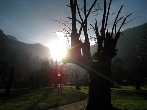 Sunrise at Las Arenas campsite