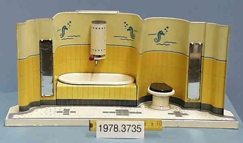 1911 / 1929 Badezimmer Aus Blech