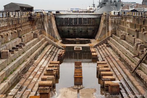 Prime Lens Sunday - Charlestown Naval Yard Dry Dock 1