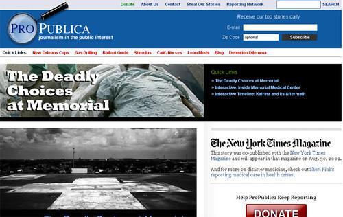 El reportaje de ProPublica