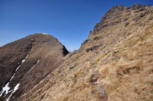 Sgurr Mor and Na Rathanan