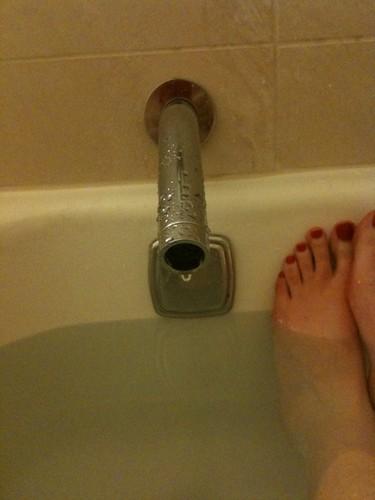 Bathtub Phallic Faucet