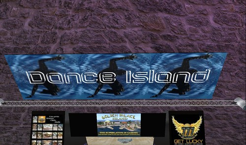 dance island virtual world of second life