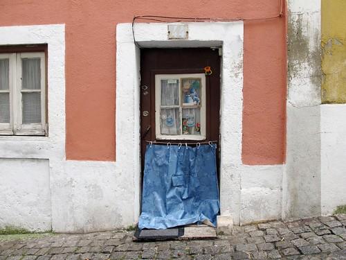 a casa de avental