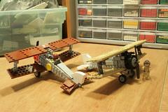 biplanes (psiaki) Tags: airplane lego wwi camel sopwith moc biplanes