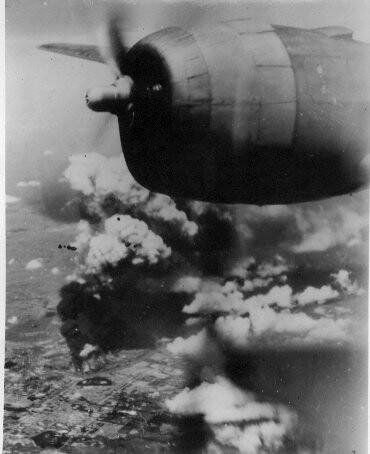 B29 bombing Anshan