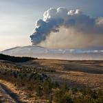 Eruption in Eyjafjallajokull