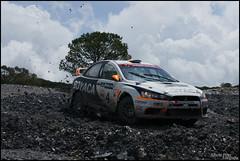 Evo X (Alberto Prez.) Tags: espaa white blanco rally riotinto huelva evolution x campeonato lancer mitsubishi evo 2010
