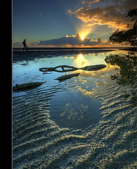 Reflection (danishpm) Tags: reflection clouds sunrise canon photographer australia wideangle brisbane mangrove qld aussie aus 1020mm manfrotto sigmalens nudgeebeach eos450d 450d mywinners 09nd reversegrad stingrayhole sorenmartensen australiasbestreflections hitechgradfilter