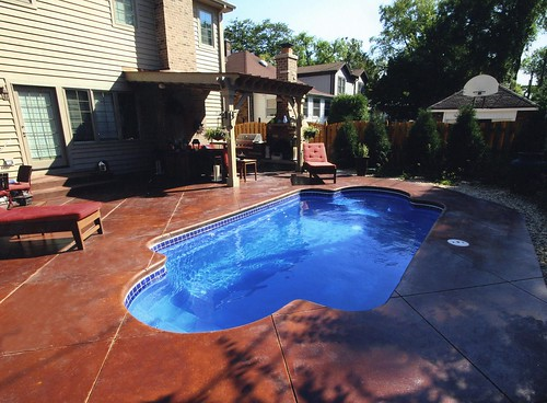 Fiberglass Pool - Roman 23