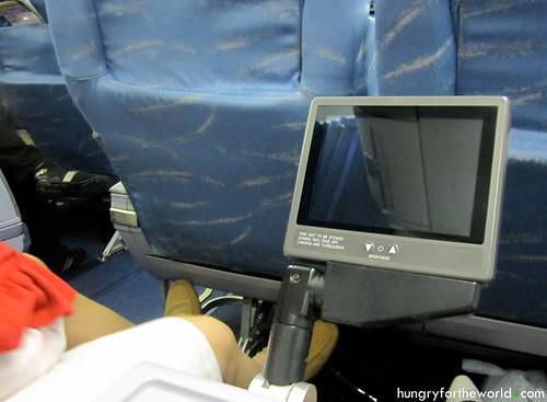 individual seat monitors