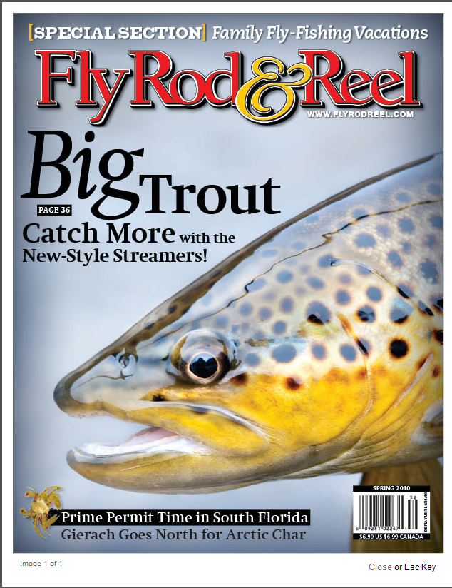 Fly Rod & Reel Magazine April 2010 Cover