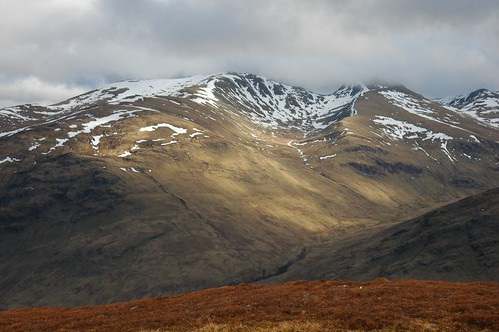 An Stuc and Meall Garbh from Creag Ard