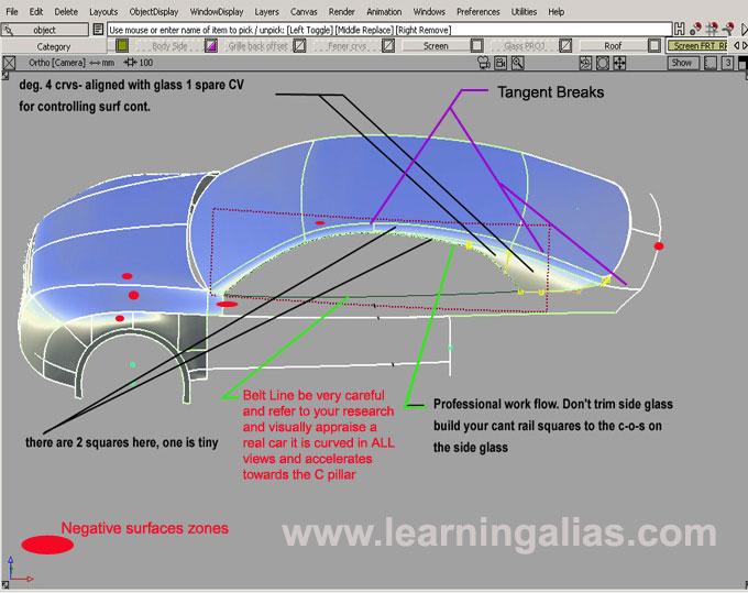 Autodesk alias studio tutorial – tennis racket – alias course.