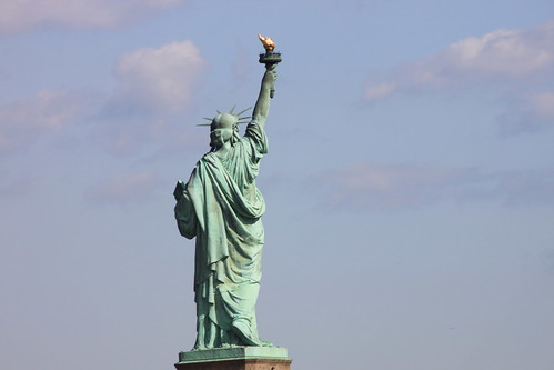 Statue of Liberty, backside by Emilio Guerra