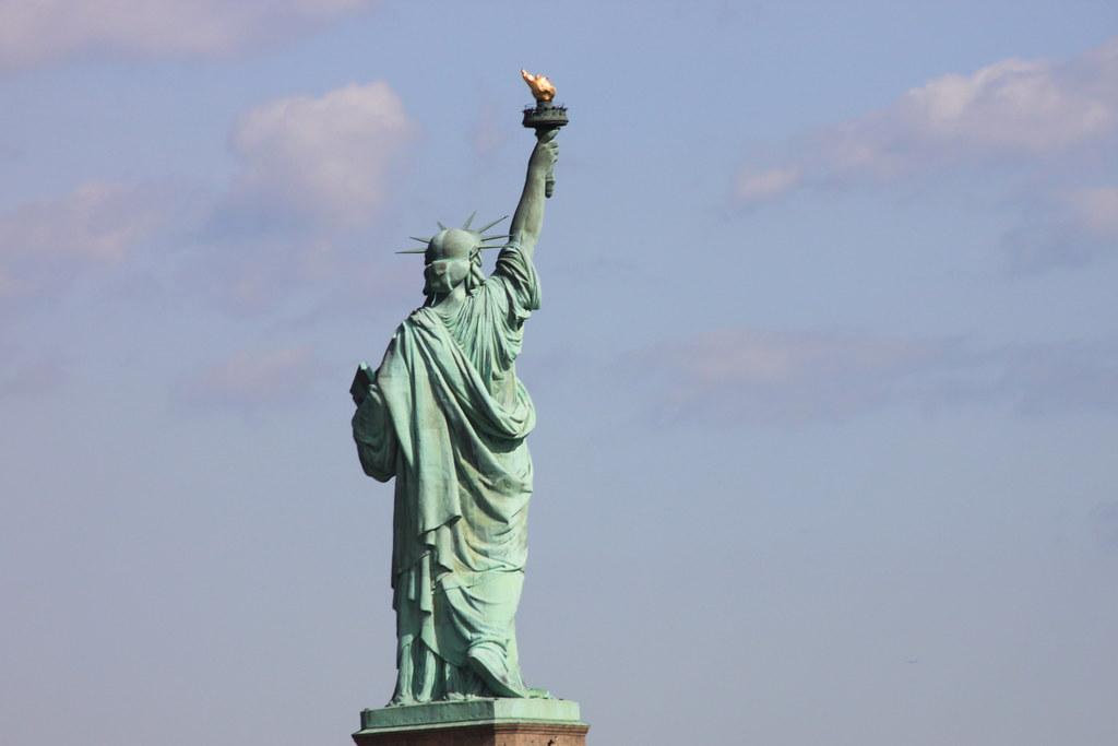 Statue of Liberty, backside