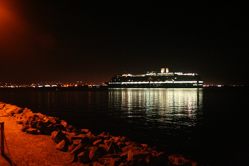 Holland America Oosterdam Passing Shelter Island