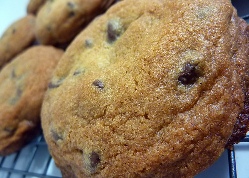 homemade Macrina Bakery chocolate chip cookies