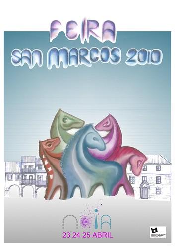 Noia - 2010 - Feira de San Marcos - cartel