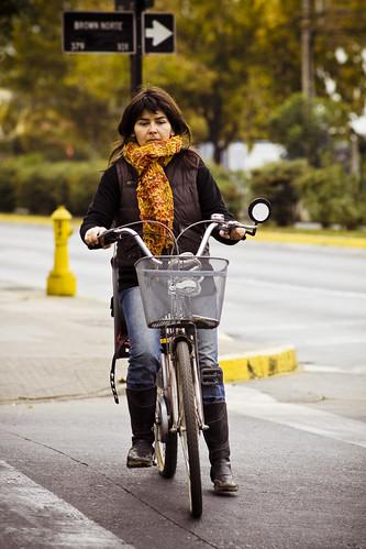 Otoño en bicicleta