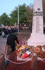 20100425_6766 Wreath laying (williewonker) Tags: day ceremony australia victoria cenotaph anzac werribee wyndham