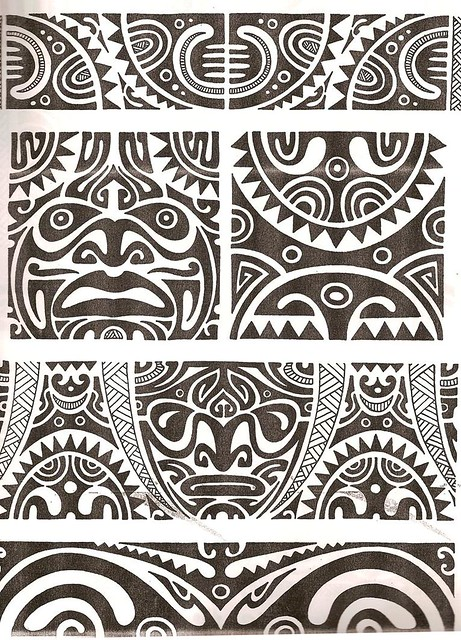 Maori tattoo kirituhi Polinesia Polynesian Tatuaje