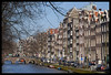 Kloveniersburgwal (peterphotographic) Tags: city holland netherlands amsterdam canal spring nikon europe iamsterdam cityscape d200 mokum kloveniersburgwal