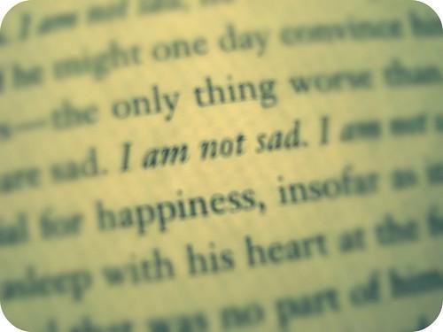not sad