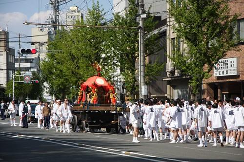 下之社鳳神輿(伏見稲荷氏子祭)