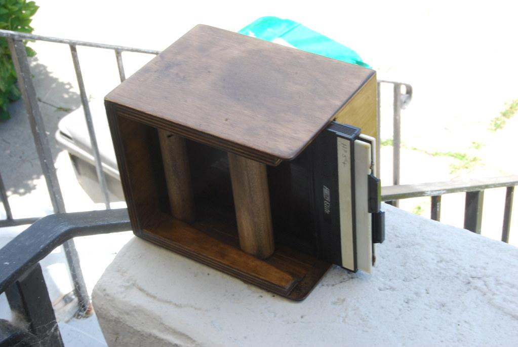 "Santa Barbara Pinhole Camera 2"" 4x5 back"
