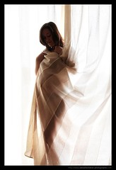PREGNANCY / GROSSESSE : Behind the Sheet (Sebastien LABAN) Tags: woman baby man girl photography kid pregnancy stomach parent grossesse photographe saintraphael