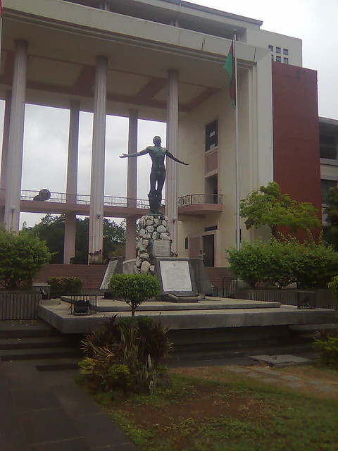 Quezon Hall Oblation